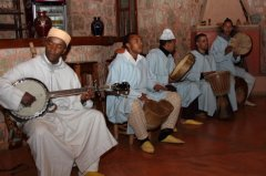 Traditional Berber music  group to celebrate Jennie's birthday.jpg